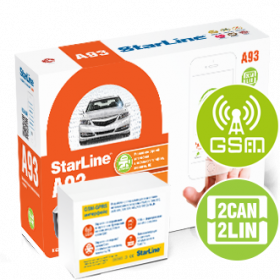 StarLine A93 2CAN-2LIN + GSM