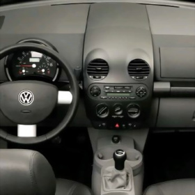 VW Beatle New 1 din